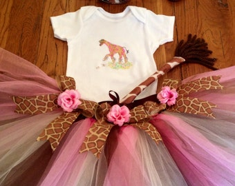 Giraffe Costume Set