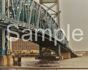 Jacksonville Bridge 5x7 Photograph