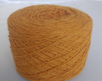 Reclaimed Silk Blend Gold Yarn