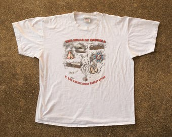 Hills of Osceola Shirt XL - Vintage Boy Scout Camp T-shirt Xl - 80s Missouri Shirt XL - 80s Summer Camp - H Roe Bartle Scout Reservation Tee