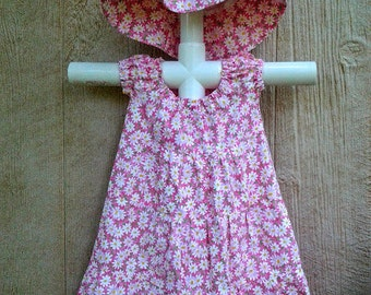Girls Summer Dress, Size 1, Toddler Girl Clothes, Toddler Sun Dress, Pullover Dress, Girl Party Dress, Birthday Dress