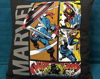 Marvel Throw Pillow / Cushion / Cover