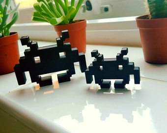 Space Invaders desk or shelf ornament - Retro gaming