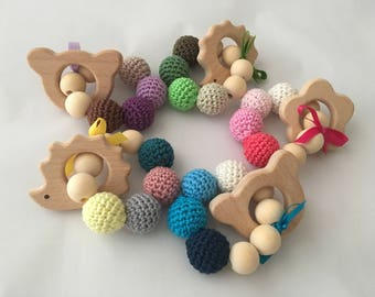 Amazing baby wooden teethers