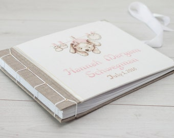 Personalized Baby Album - Baby Album - Photo Album Baby- Baby Memory Book - Baby Girl Photo Album