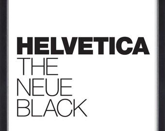 Helvetica II poster