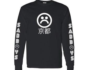 Sad Boys Long Sleeve T Shirt #4