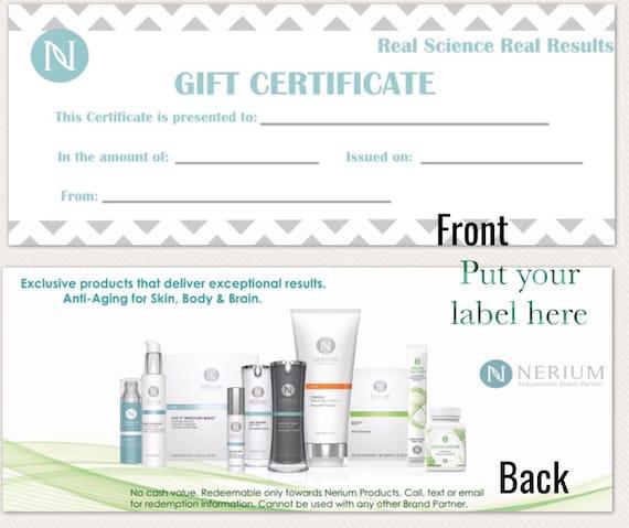 Sale sale salenerium gift certificate yelopaper Choice Image