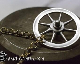 Taranis Wheel/ Arianrhod  / Rouelle / Rad-Anhänger (large)