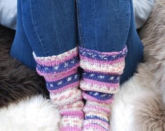Swedish hand knitted socks