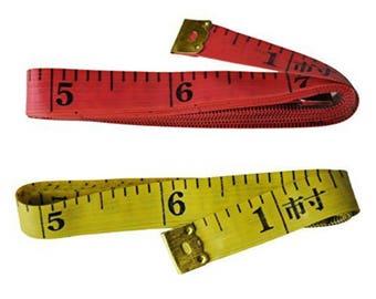 "GOELX Pack Of 2 X 1.5 Meter (60"" Inch) Sewing Tailor Measuring Ruler Tape"