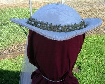 Bridal Renaissance Riding Hat