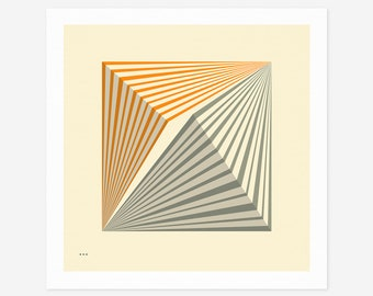 SYSTEMS 29.2 (Giclée Fine Art Print/Photo Print/Poster Print) Minimal Geometric Abstract Art