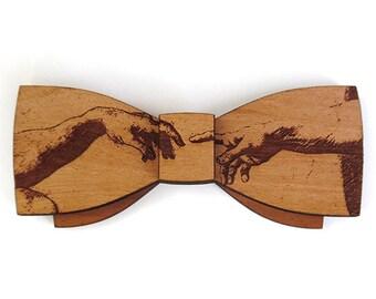 C.L. Michelangelo Sr., Wooden Bow Tie