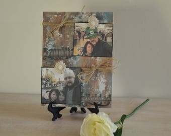 PhotoFrame rustic decorative style for your family photos