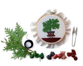 Out of Retirement! December Pine Pattern  pdf by Sarah K. Benning #skbdiy Monthly Pattern Program: Single Month pdf Download