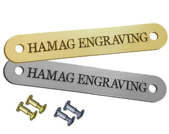 Horse Halter Nameplate & Screws
