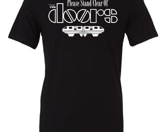 Please Stand Clear Of The Doors shirt | Disney shirt | Disney band shirt | Monorail shirt