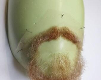 Facial postiche, chin beard and moustache set.LI45