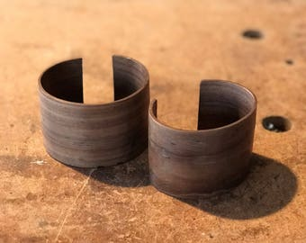 Walnut pressed wood bracelet