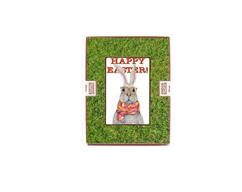 Easter gift ideas etsy easter custom gift holiday chocolate gourmet gift food for easter basket food easter bunny coworker easter negle Image collections