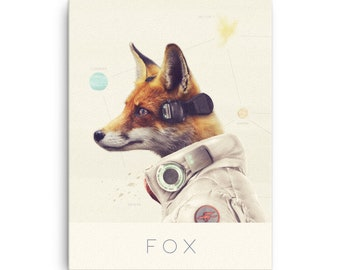 Star Fox / Video Game Decor / Nintendo Canvas / Video Game Art / Super Smash Bros / SSB / Starfox / Geek Wall Art