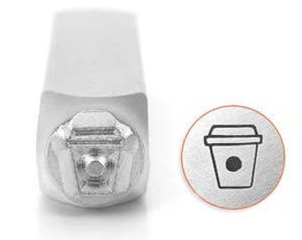 Impress Art 6mm Coffee Cup Metal Stamp (SC1510-AM-6MM)