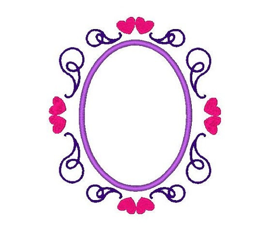 oval frame design