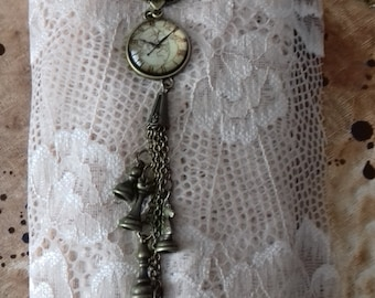 Failed and dull, cogs, fake watch, steampunk