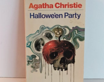 Halloween, Agatha Christie, Paperback, First Printing Great Britain, Cover Art Tom Adams, 1972