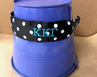 Kappa Kappa Gamma Black Dot Headband