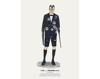 He Wears It 019 - T-1000 wears Thom Browne. New York