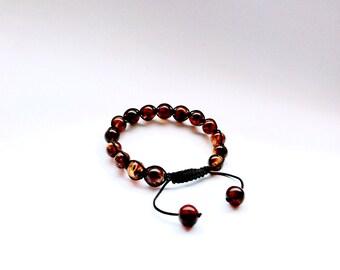 Amber Bracelet/ Baltic Amber/ Mans Amber Bracelet/ Amber Beaded Bracelet/ Mans Bracelet/ Amber Jewelry/ Beaded Bracelet/ Handmade Bracelet/