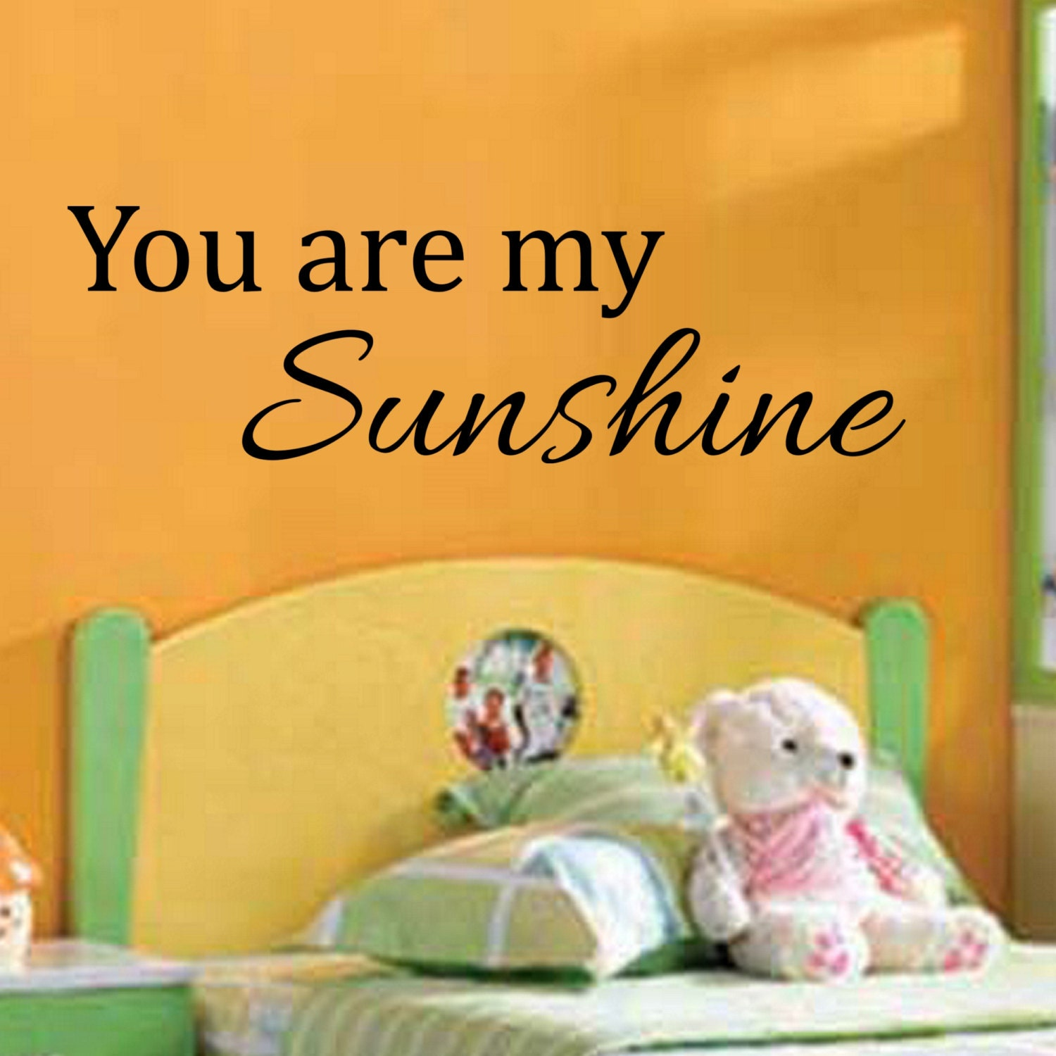 You are my Sunshine Decal Wall Vinyl Sticker Family Girls