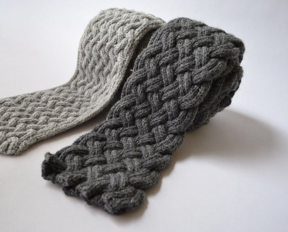 Items similar to Causey & Flagstone Two Scarf Knitting Patterns ...