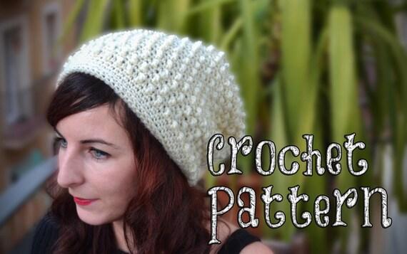PATRÓN DE CROCHET / Gorro a Ganchillo / Gorro a Crochet /