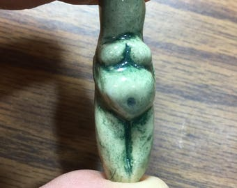 Ceramic Goddess Bead