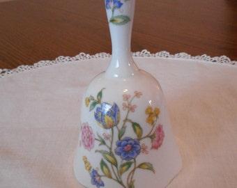 Porcelian Jacobean Floral Bell