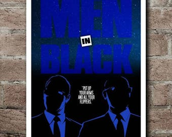 MEN IN BLACK Movie Quote Poster