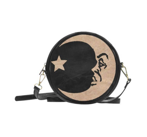 Ouija Moon Round Sling Bag