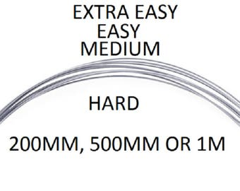 Silver Wire Solder Extra Easy Medium Hard Soldering Jewellery Sterling Silver