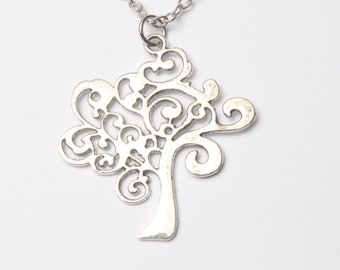 Tree of Life Necklace  Tree of Life Necklace Silver, Celtic Jewelry Necklace, Family Tree Necklace,Sada Jewels,Inspirational