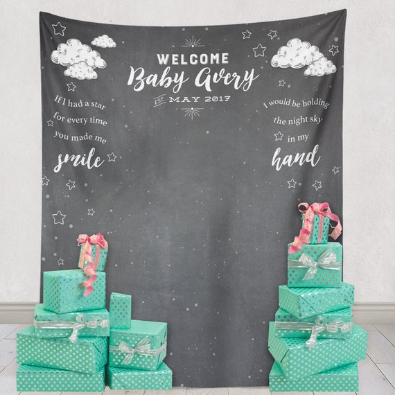 Charming Baby Shower Backdrop Shower Backdrop Baby Shower Decor And