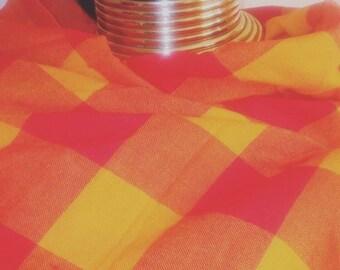 Maasai shuka/ cloth