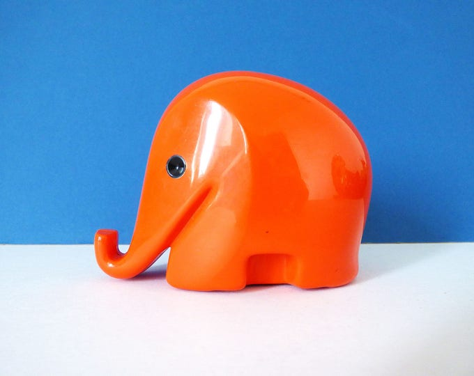 Colani Elephant money box Vintage design classic medium sized  without key