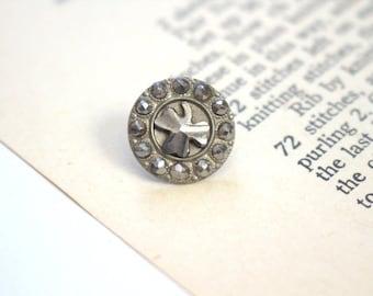 Lucky Charm Steel Studded Button