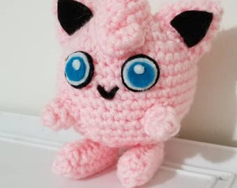 Pokemon Inspired Jigglypuff Crochet Plush