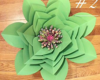 Paper Flower Style #2