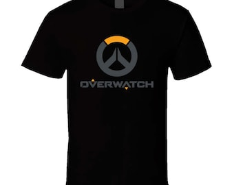 Overwatch T-Shirt - Gaming T-Shirts Men's Tees Gamers (Black or White)