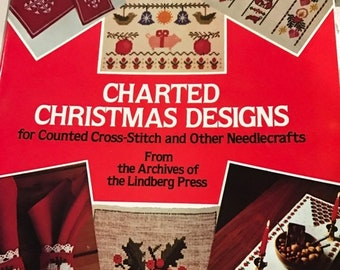 MAYniaSALE Charted Christmas Designs for counted cross stitch